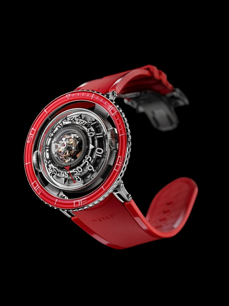 MB&F's HM7 Red Platinum Watch Has a Six-Figure Price Tag