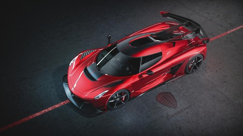 2020 Koenigsegg Jesko Cherry Red Edition10