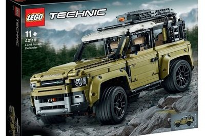 Leaked LEGO Technic Kit Gives Us Our First Glimpse at the 2020 Land Rover Defender