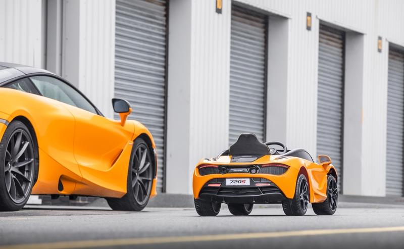 This Ride-On Toy Car Is The McLaren We Can All Afford