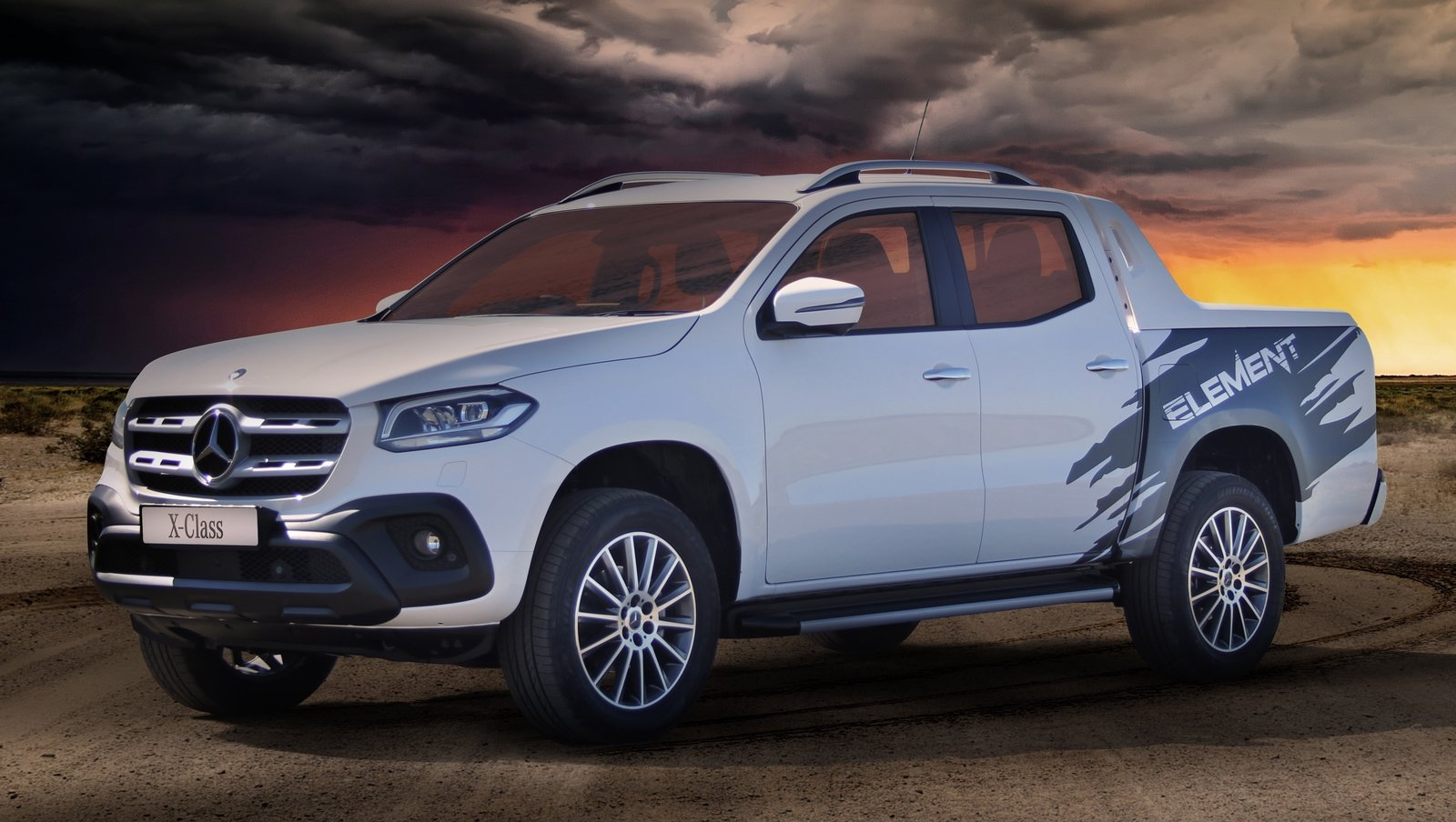 Types Of Pickup Trucks >> 2019 Mercedes-Benz X-Class Element Edition | Top Speed