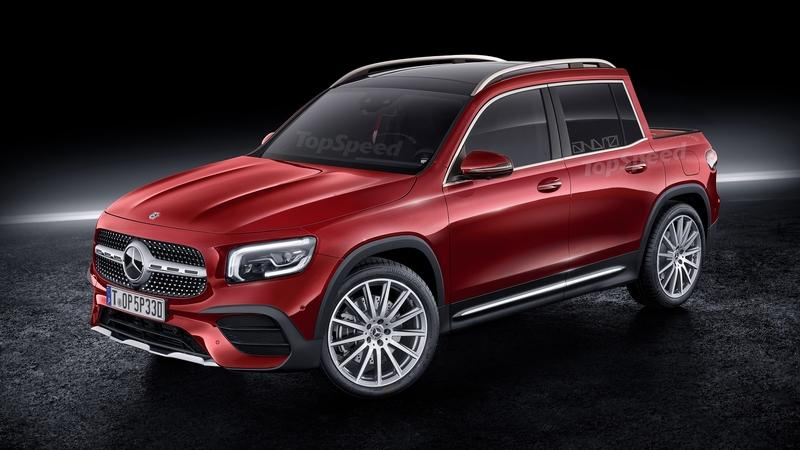 Would a Mercedes GLB pickup sell in America?