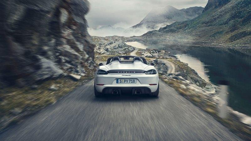 Porsche 718 Spyder Debuts with Flat-Six Engine and Sub-$100K Price