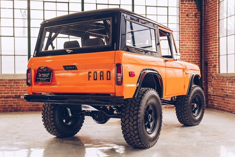 Redline Restoration's 1971 Ford Bronco Preaches That Less Is More