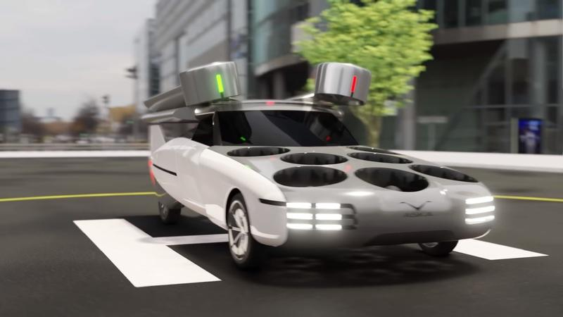 The Aska Hybrid is a Unique Take on the Flying Car