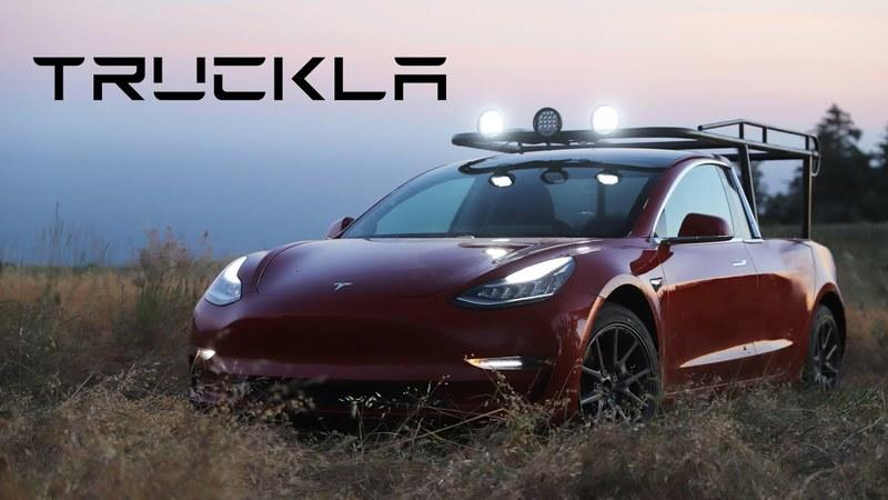 The first ever Tesla pickup truck is here and it's not what you expected