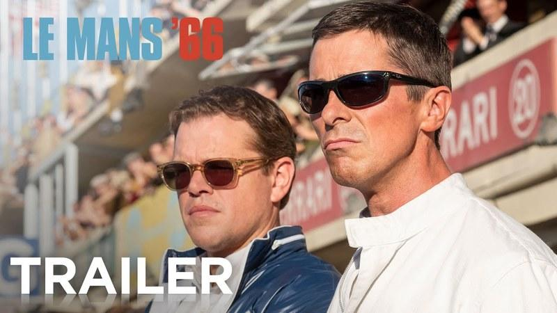 The First Trailer for Le Mans '66 aka The Ford vs. Ferrari Movie is Out