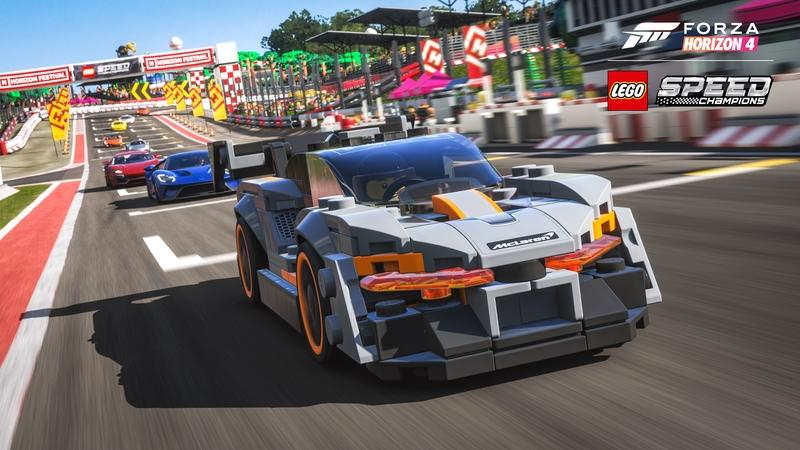 The LEGO Speed Champions Expansion for Forza Horizon 4 Is Everything We Thought It would Be