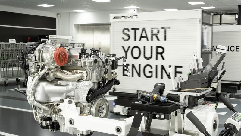 Want to Know How AMG Builds a 416-Horsepower Engine? See For Yourself