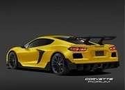 This Rendering of the 2020 Chevy C8 Corvette ZR1 Represents Ford's Worst Nightmare - image 846350