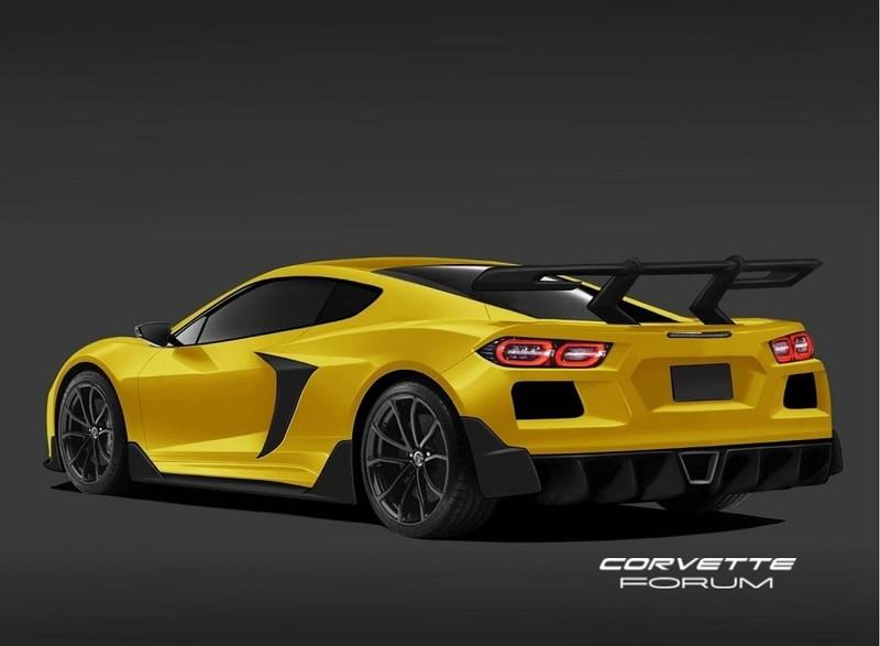 This Rendering of the 2020 Chevy C8 Corvette ZR1 Represents Ford's Worst Nightmare