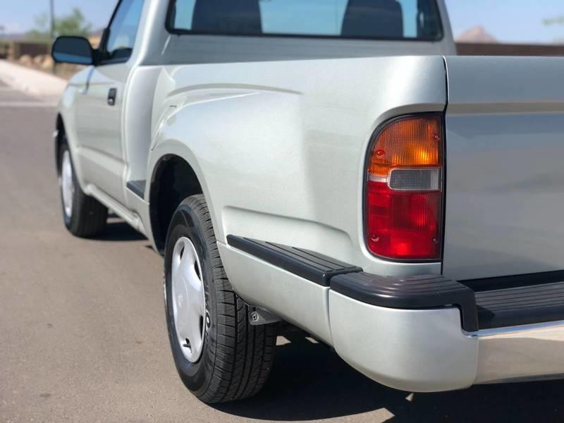 Would You Pay $14,000 for a 2000 Toyota Tacoma With 7,000 Miles on the clock?