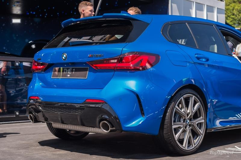 I Saw the 2020 BMW M135i at the 2019 Goodwood Festival of Speed and I'm Impressed