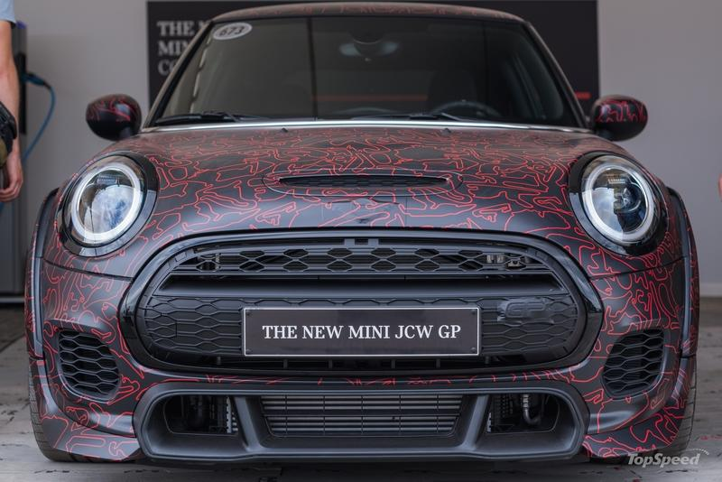 I Saw the 2020 MINI Cooper S JCW GP at the 2019 Goodwood Festival of Speed and Holy Mother of Hot Hatches (Well, almost)