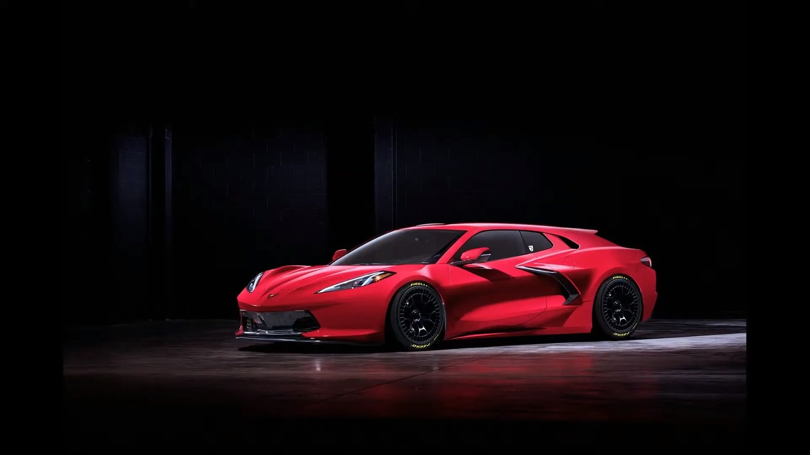 A Chevy C8 Corvette Shooting Brake Definitely Needs To ...