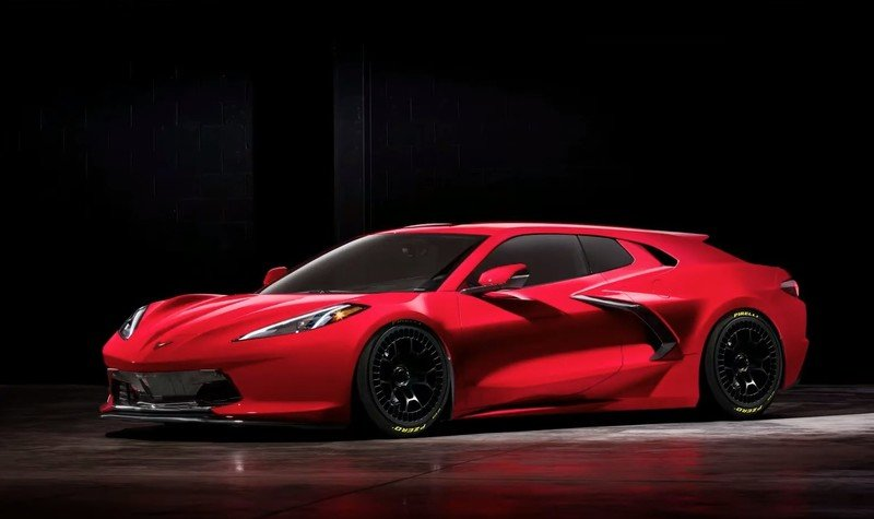 A Chevy C8 Corvette Shooting Brake Definitely Needs to Happen