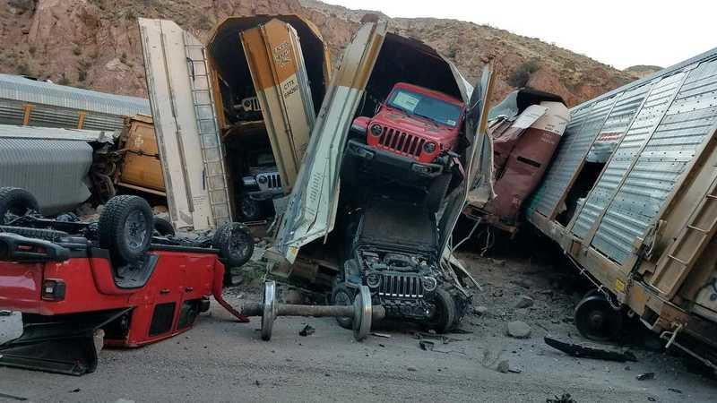 A Train Wreck Could Have You Waiting Longer For your New Jeep Gladiator, Jeep Wrangler, or Chevy Silverado