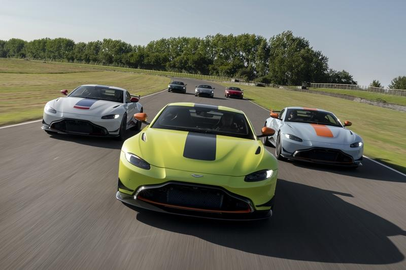 Aston Martin Celebrates its Roots with The Vantage Heritage Racing Edition