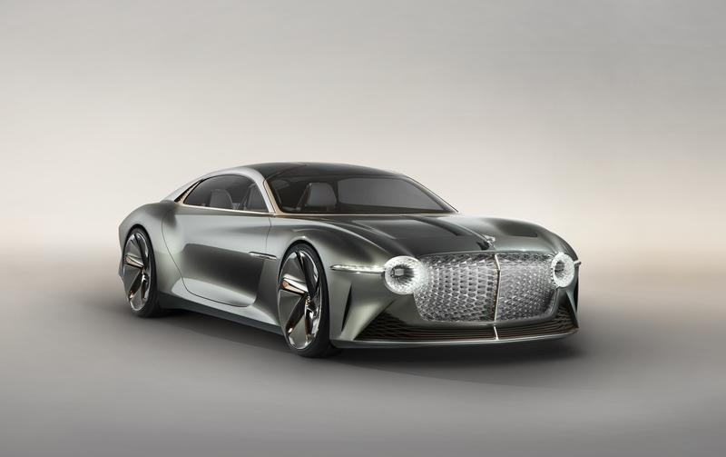 Bentley previews its future with the EXP 100 GT Concept