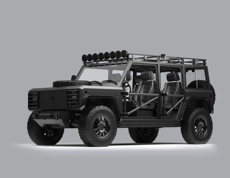Bollinger's Overlanding Parts For the B1 and B2 are Off-Road Candy
