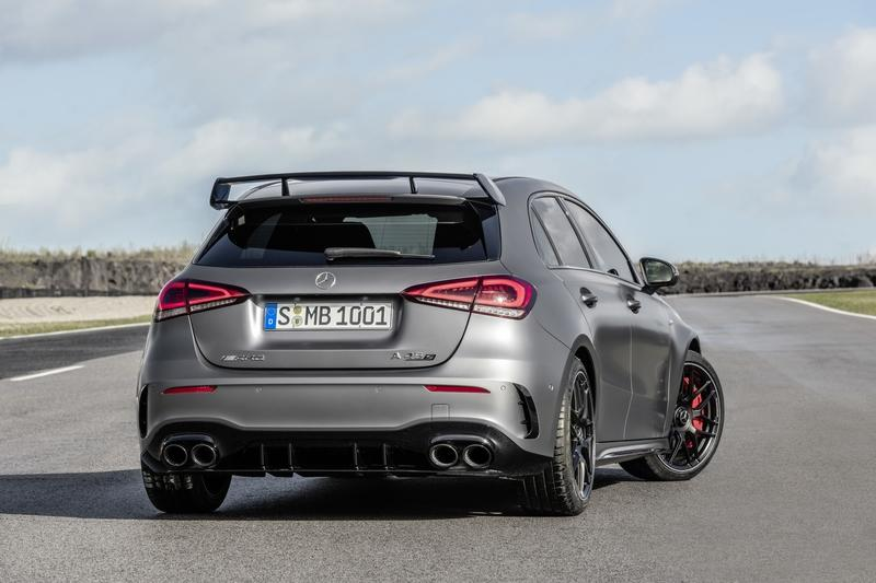 Wallpaper of the Day: 2020 Mercedes-AMG A45 Hatchback