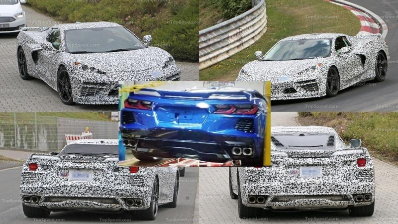 This Leaked Image of the 2020 Chevy C8 Corvette Is Like Looking Through a Very Dirty Crystal Ball