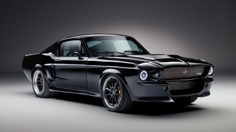 1967 Ford Mustang EV by Charge Cars