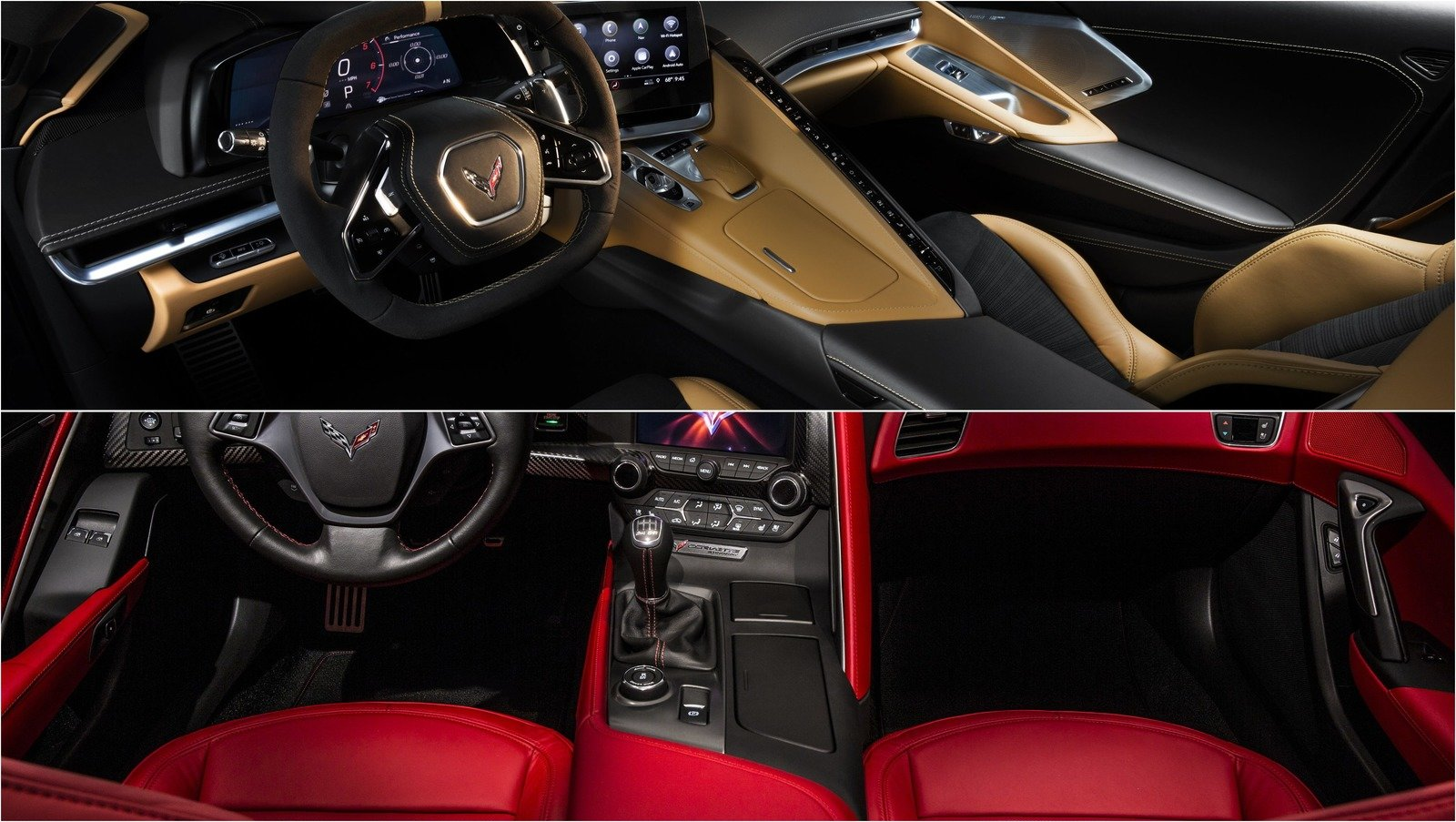 How Different Is The 2020 Chevy C8 Corvette's Interior ...