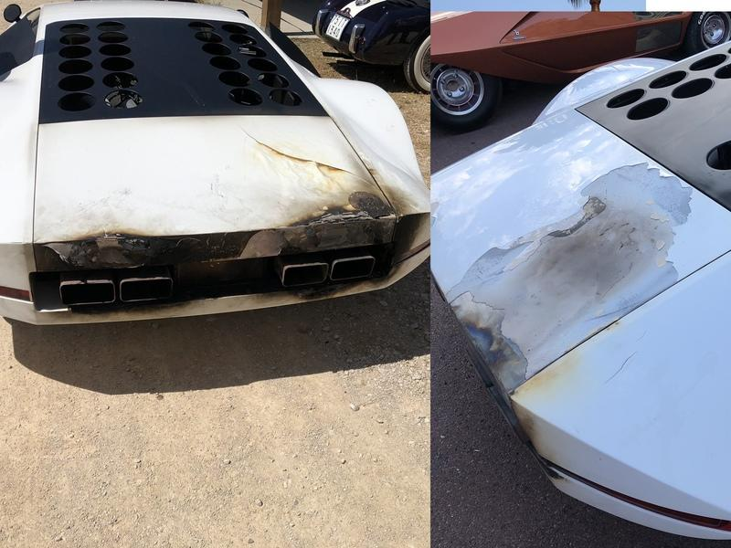 James Glickenhaus' One-Off Ferrari Modulo Catches Fire, Damage Could Have Been a Lot Worse