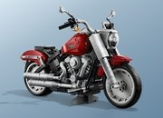 Lego Teams Up With Harley Davidson For Stunning Fat Boy Creator Set - image 849040