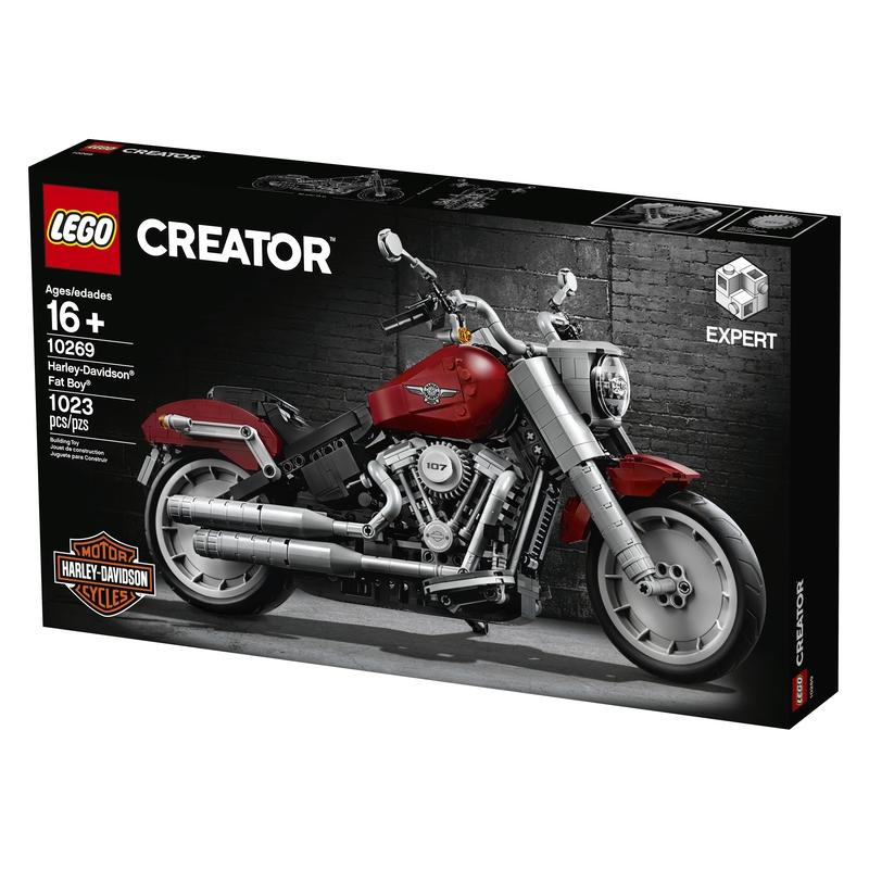 Lego Teams Up With Harley Davidson For Stunning Fat Boy Creator Set