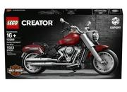 Lego Teams Up With Harley Davidson For Stunning Fat Boy Creator Set - image 849186