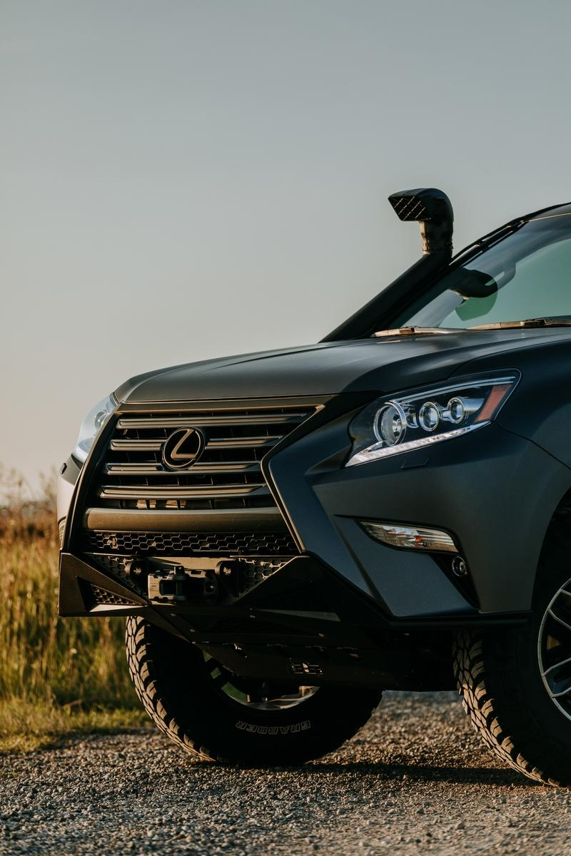 The Lexus GXOR Concept Is An Eccentric Mix of Luxury and Off-Roading