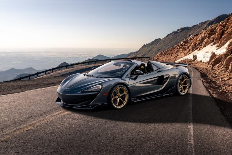 2020 McLaren 600LT Spider Pikes Peak Collection