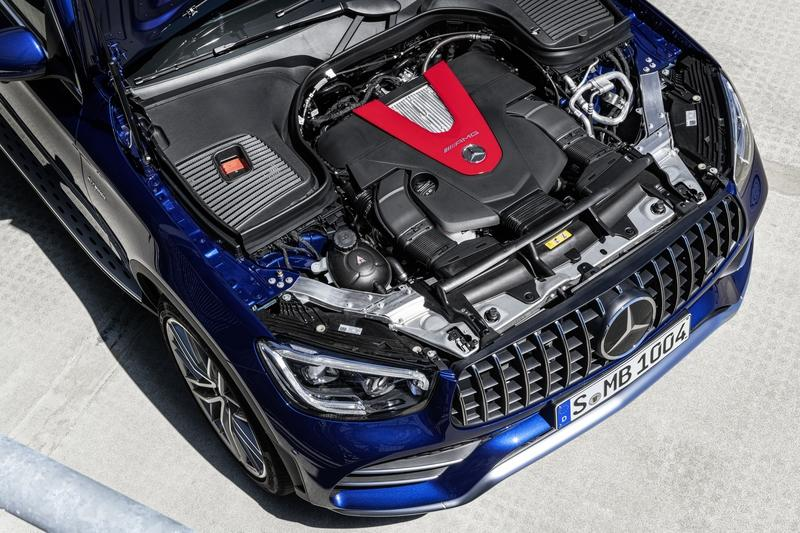Mercedes-AMG GLC43 unveiled with aggressive looks and beefed-up engine - image 850462
