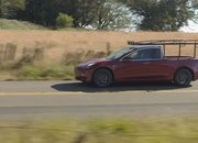 Someone Caught the Rare and Elusive Tesla Pickup on Video! - image 850205