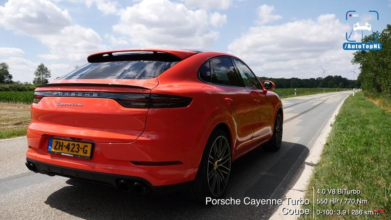 The Porsche Cayenne Coupe Just Might Be the King of the Autobahn