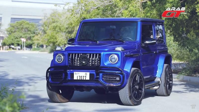 Someone Turned the Suzuki Jimny into a Smaller Mercedes-AMG G63 and You Have to See It