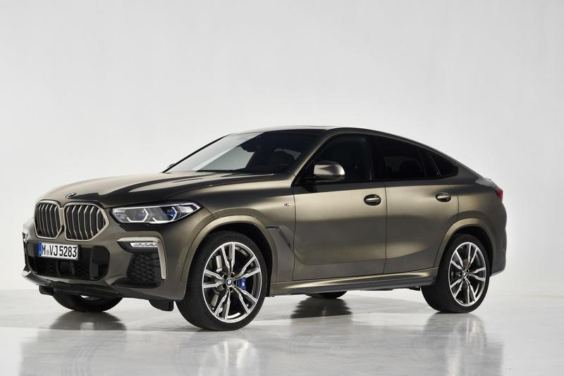 The 2020 BMW X6 remains ugly, boasts more power and new technology