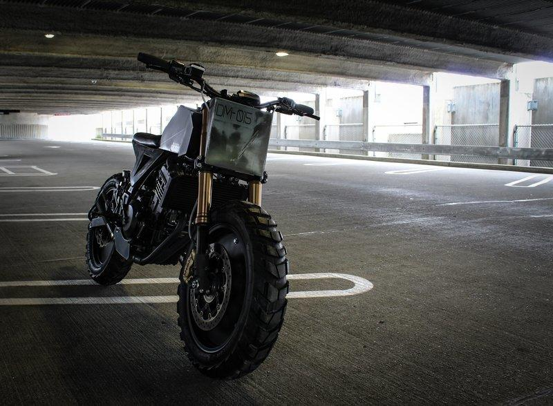 The Droog DM-015 Motorcycle Looks Like It Escaped The Mad Max Citadel