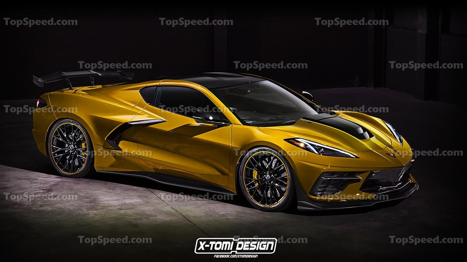 interior design looks for 2018 corvette