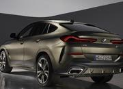 The new BMW X6 features a new, huge grille, remains the uglier brother of the X5 - image 847667