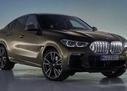 The new BMW X6 features a new, huge grille, remains the uglier brother of the X5 - image 847668