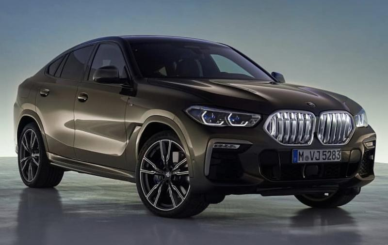 The new BMW X6 features a new, huge grille, remains the uglier brother of the X5