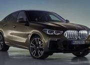 The new BMW X6 features a new, huge grille, remains the uglier brother of the X5 - image 847672