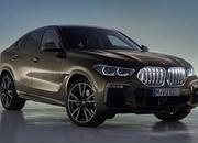 The new BMW X6 features a new, huge grille, remains the uglier brother of the X5 - image 847665