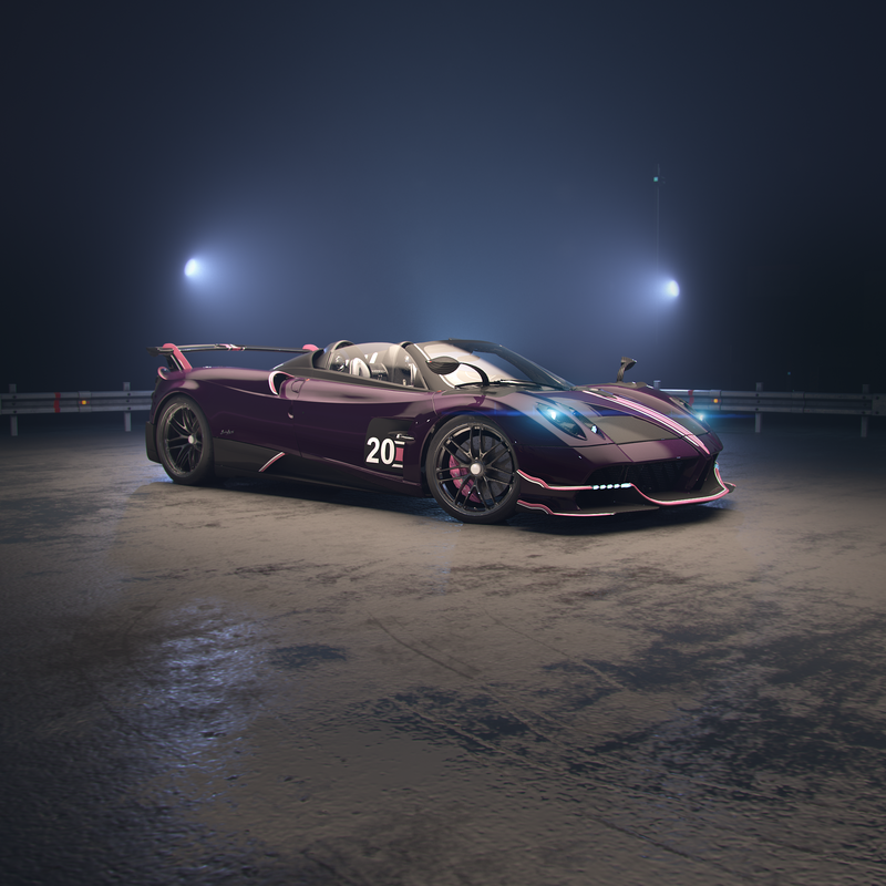 The Pagani Huayra Roadster BC Just Debuted On CSR 2