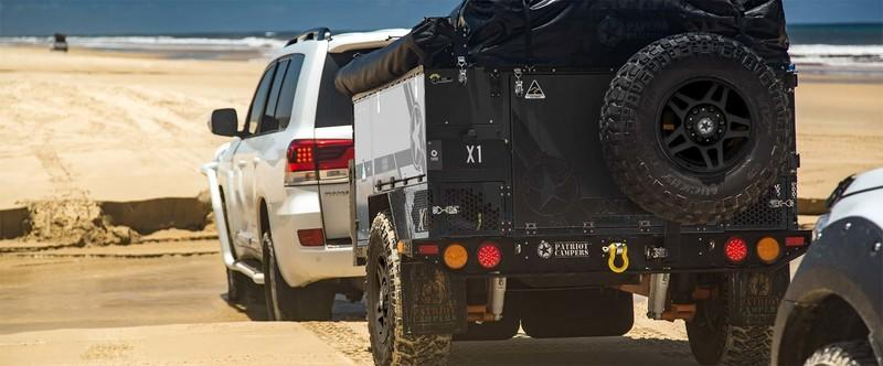 The Patriot Campers X1H Camper Trailer Is the Rambo of the Bunch