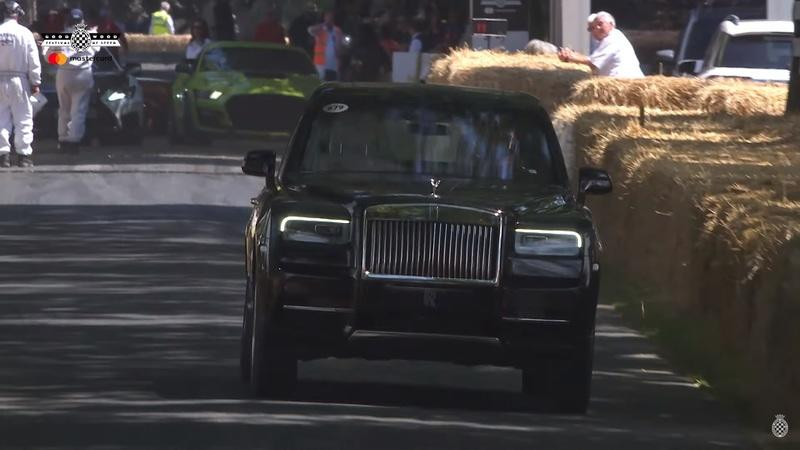 The Rolls-Royce Cullinan Impressed the Hell Out of Us at the 2019 Goodwood Festival of Speed