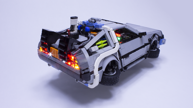 This Lego DeLorean Is The Ultimate Back To The Future Ode